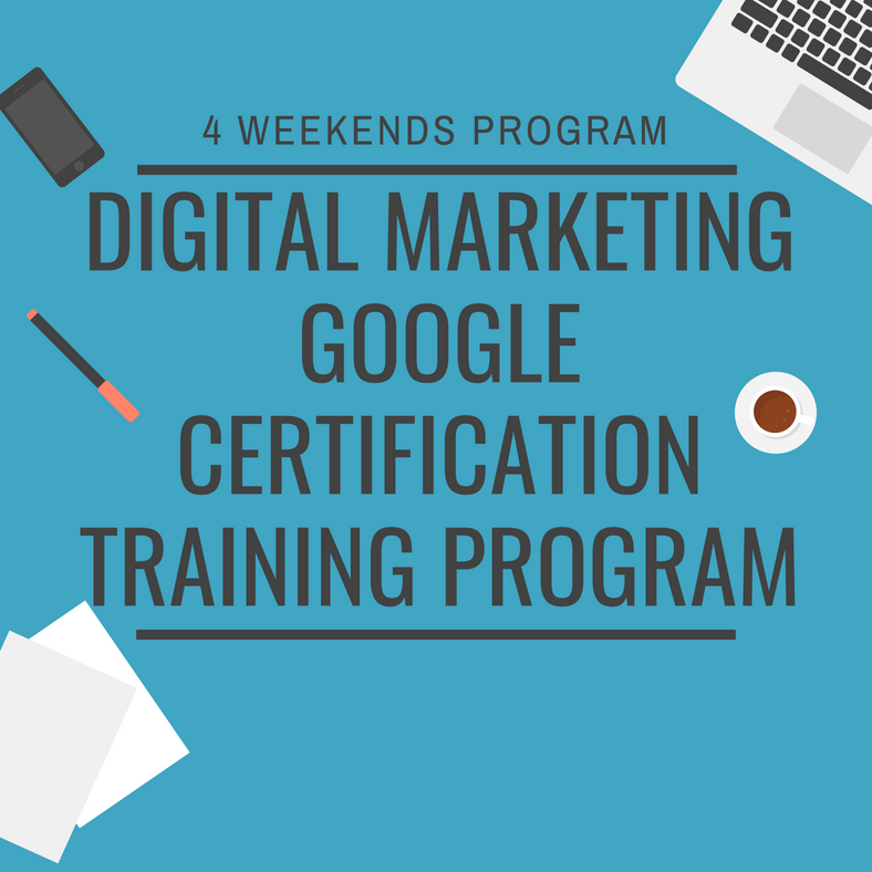 Digital Marketing - Google Certification Course at IES College, Bandra (West). Workshop
